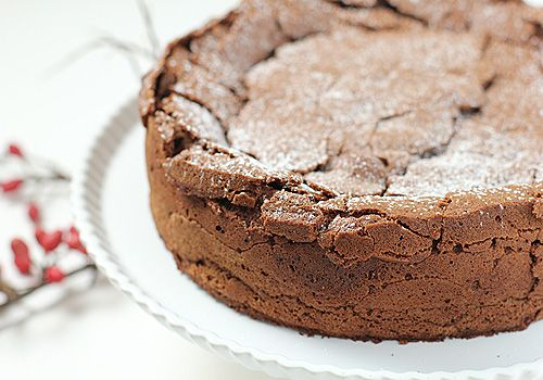 Chocolate Fallen Souffle Cake | Cake - Chocolate | Pinterest