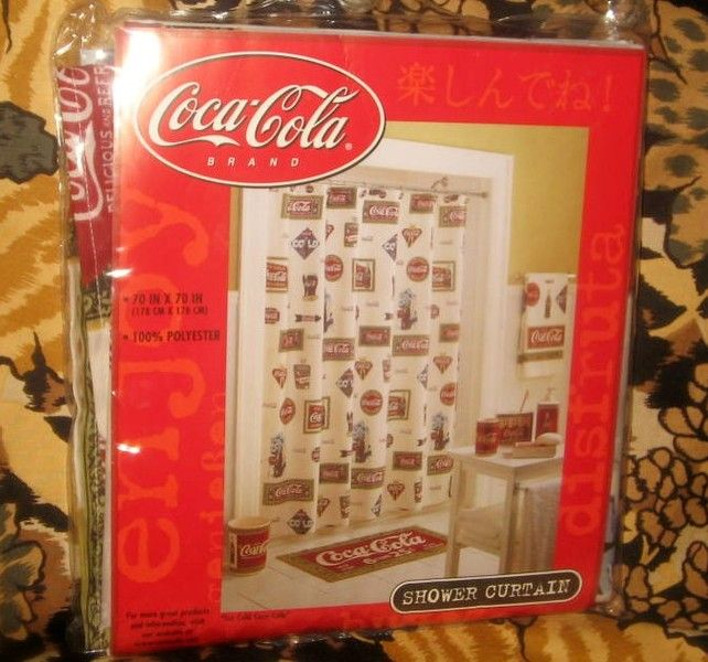 Curtains Ideas coca cola shower curtain : Coca cola shower curtains - charbroil gas grill covers