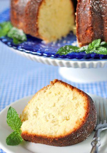 Coconut Pound Cake with Lemon-Mint Glaze | Freshly Baked - Cakes/Brea ...