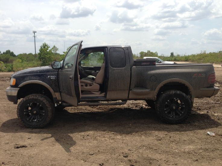 My buddies lifted 2003 f150 lariat | Trucks | Pinterest