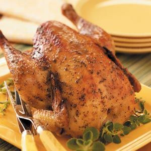 chicken this is pretty tastey but i like more flavor to my roasts but ...