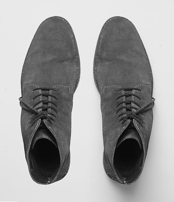 mens trap boot slate grey allsaints allsaints