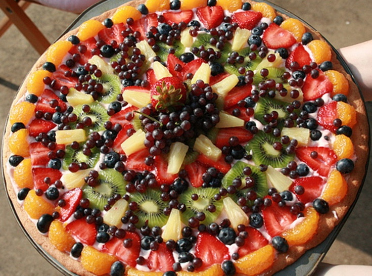 fruit pizza recipes are berries fruit