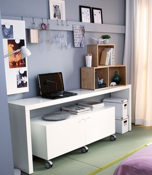 bureau malm ikea se concentrer work space pinterest. Black Bedroom Furniture Sets. Home Design Ideas