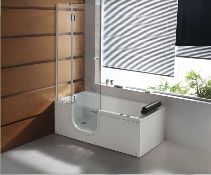 Walk in tubs and showers combo car tuning - Handicap bathtub shower combo ...