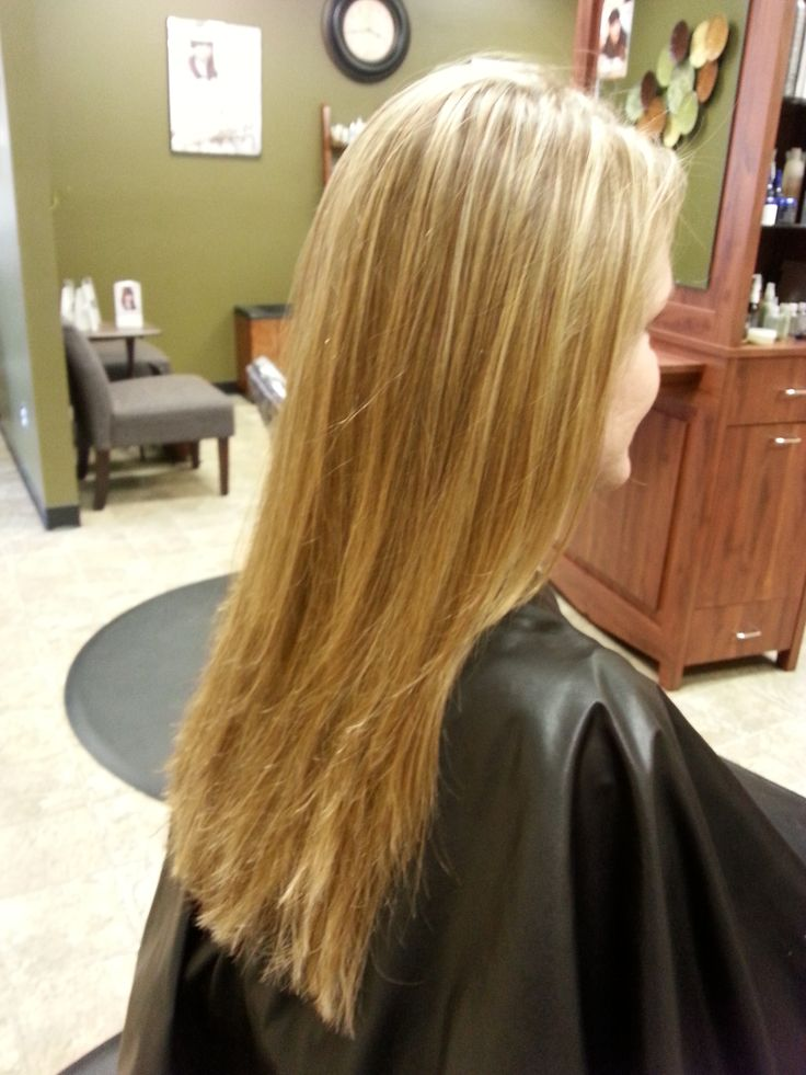 Light & golden blonde, Aveda hair color | Creations by Salon Capri
