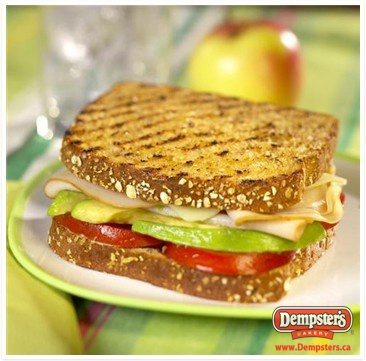 ... Grilled West Coast #Sandwich is a delish way to get your veggies in