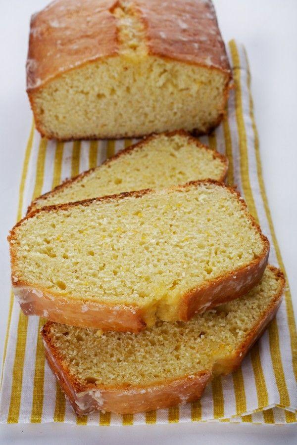 Bay Leaf Pound Cake With Orange Glaze from David Lebovitz.