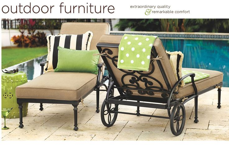 outdoor furniture ballard designs trend home design and