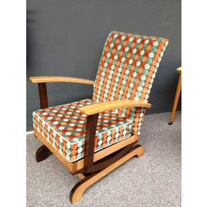 1950s platform rocking chair  Sewing room  Pinterest