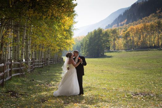 Autumn at T Lazy 7 Ranch | Colorado Weddings Magazine | Weddings ...