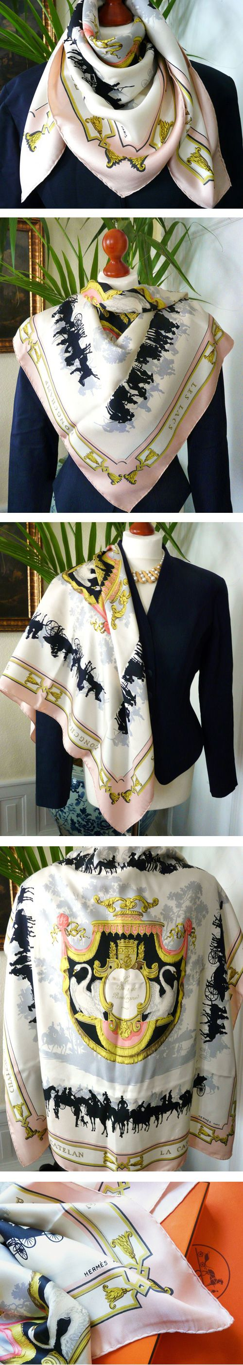 How to wear Hermes scarf Hermes Hermesscarf scarf howto wear Hermes Scarves How To Wear