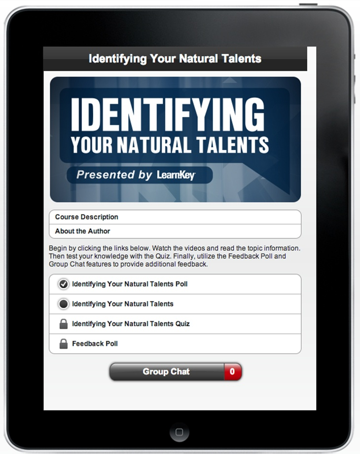 Identifying Your Natural Talents