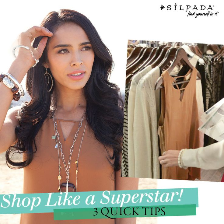 SUNDAY STYLE SESSIONS: How to shop by making jewelry the hero! Our 3 quick tips to shop like a superstar are on the blog. | Silpada Blog #WomensFashion #shop #style