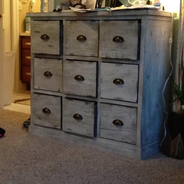 Diy easy vintage dresser dressers and desks pinterest for Diy ideas for old dressers