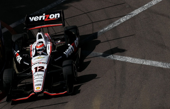 Will Power of Australia, drives the #12 Verizon Team Penske Chevrolet