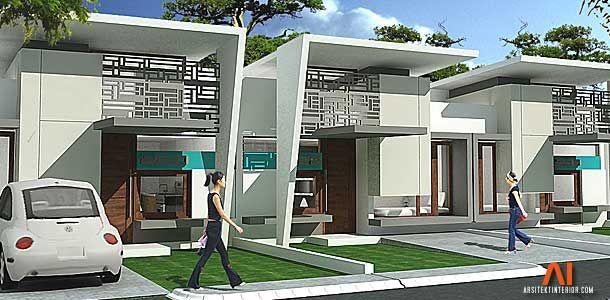 desain rumah type 36 arsitektur pinterest
