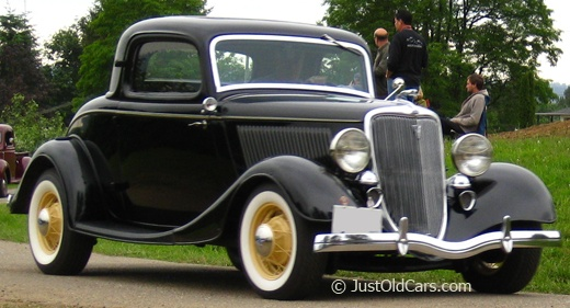 1934 ford 3 window coupe 39 34 ford pinterest for 1934 ford 3 window coupe pictures
