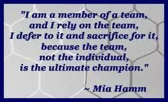 Mia Hamm, best soccer quotes