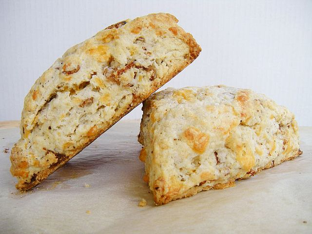 Bacon Cheddar Scones | Bountiful Bread | Pinterest