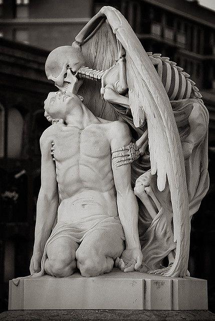 Spanish cemetery sculpture- very intense