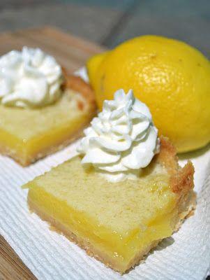 Classic Lemon Bars | Lemon Love | Pinterest