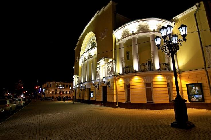 Волковский театр ярославль официальный сайт афиша - a14