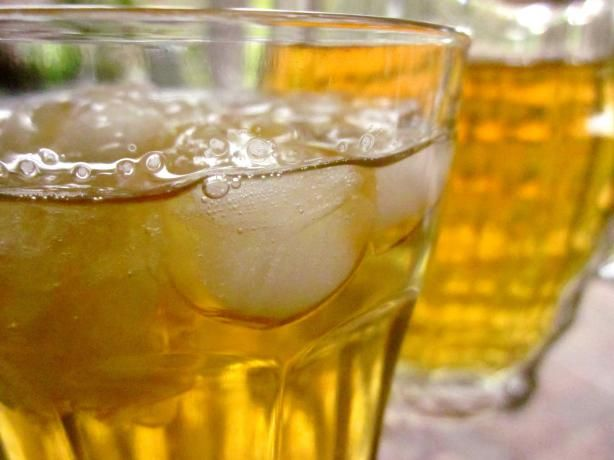 Iced Ginger Green Tea - really good! I used about 1.5 tablespoon of ...
