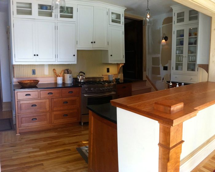 Small Kitchen Can I Mix Cabinets Finishes Kitchens Forum Gardenweb