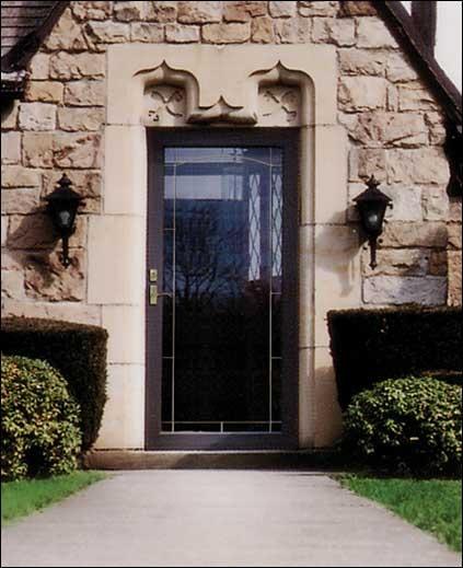 Decorative Storm Door Dream Home Pinterest