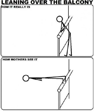 How mothers see it...
