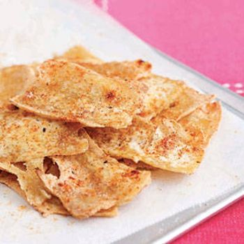 Baked Tofu Chips Recipe - ZipList | Food & Drinks | Pinterest