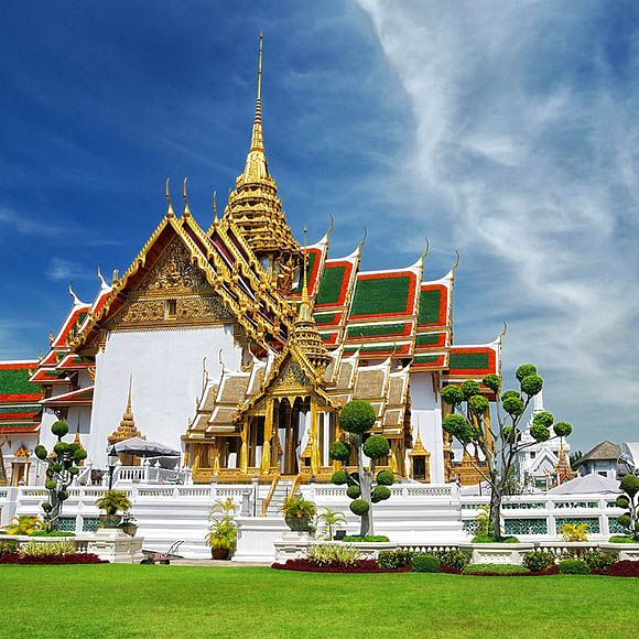 Grand Palace Thailand Castles Cathedrals Temples Pinterest