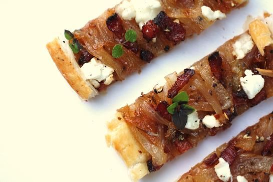Caramelized Onion and Goat Cheese Tart. | Favorite Recipes | Pinterest