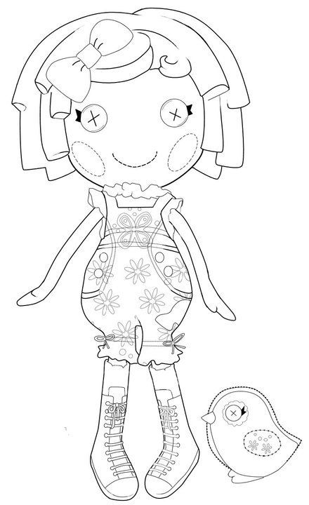 lalaloopsy coloring pages for kids - photo#36