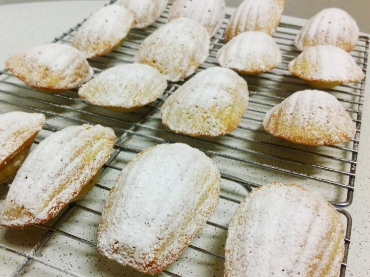 Orange Poppy Seed Madeleine Cookies | A Madeleine | Pinterest
