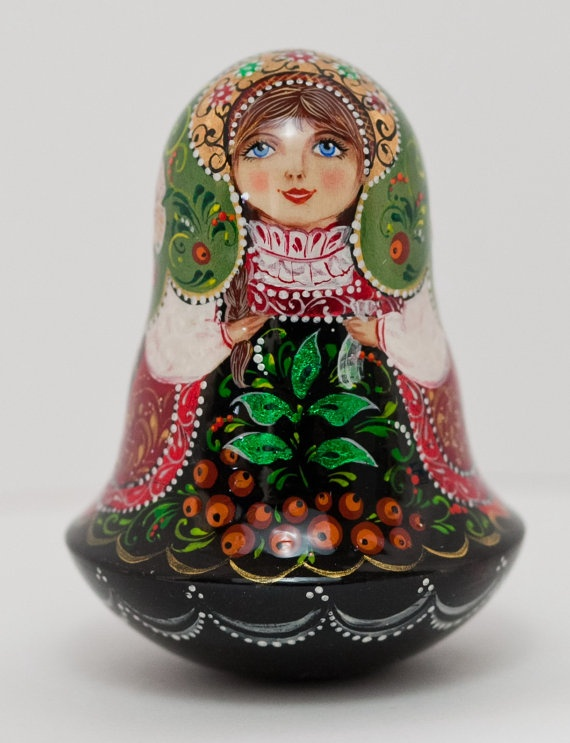 Russian matryoshka doll great book on matryoshkas the art of the