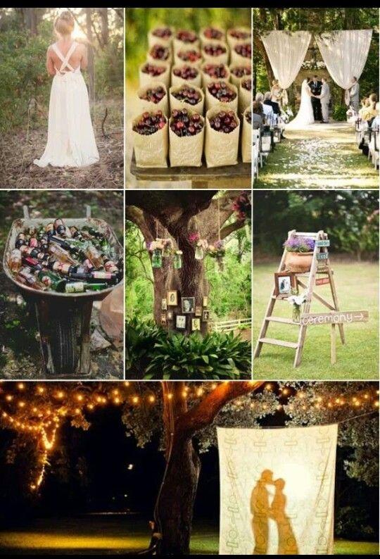 Cute Backyard Wedding Ideas : Cute ideas for backyard wedding  Wedding ideas  Pinterest