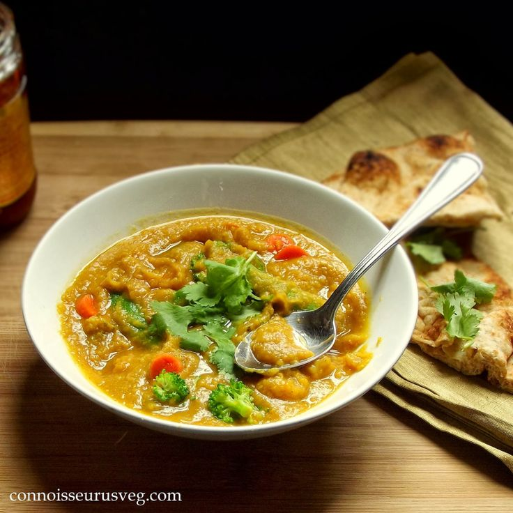 Mulligatawny Soup (Indian Split Pea Soup with Veggies)