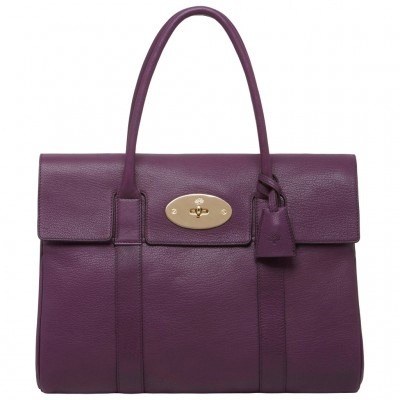 Purple Mulberry Bag