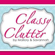 Classy Clutter.  Great blog.  So many ideas!