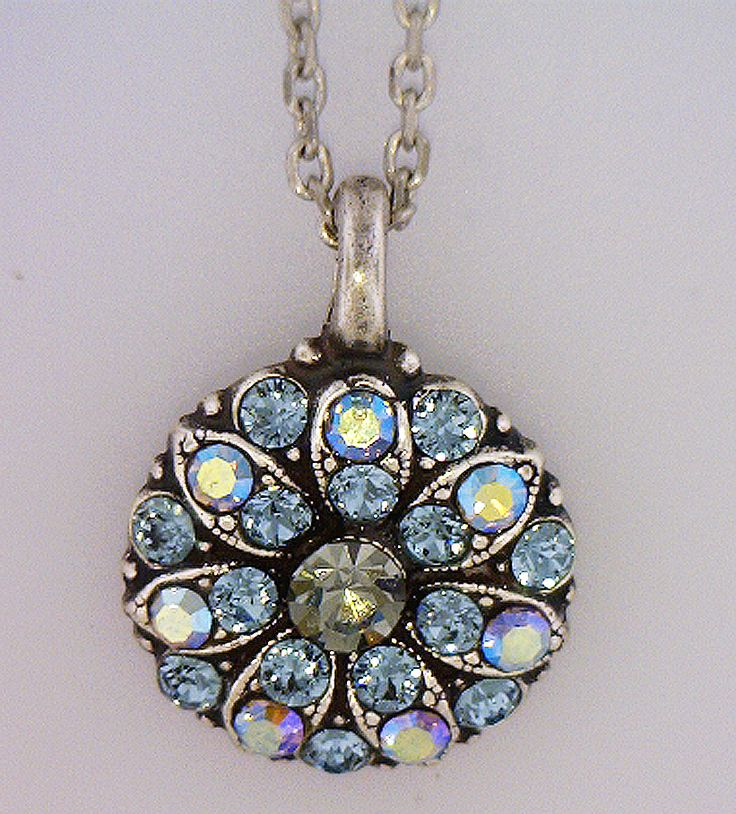 Mariana Pendant..Every piece is plated with sterling silver and ...