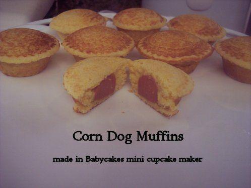 Corn dog muffins | big yum | Pinterest