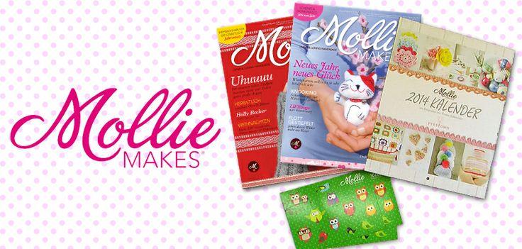 Die Goodies von Mollie Makes Germany für Eure DIY-Überraschungspakete! #diy #molliemakes #selfmade #nähen #blogger