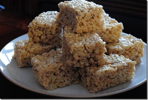 Salted Brown Butter Rice Krispie Treats | Dessert Recipes | Pinterest