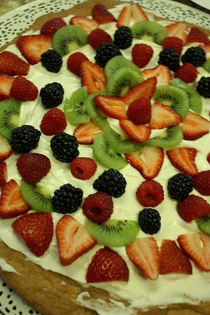 Fruit Pizza | Reasons Why I Cannot Lose Weight...LOL | Pinterest