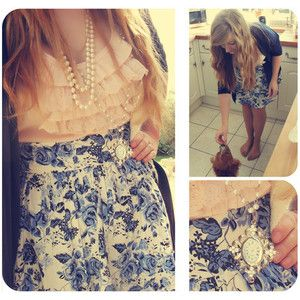 Very vintage/girly - perfect for me!