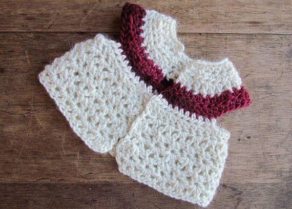 Amigurumi Baby Elephant Pattern : Crochet Vest Pattern for a Waldorf Doll or American Doll