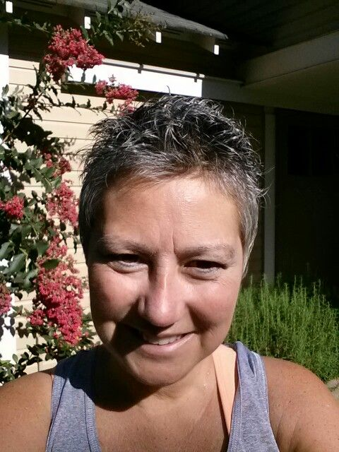 Hair 6 months after chemo  Very short hair styles  Pinterest