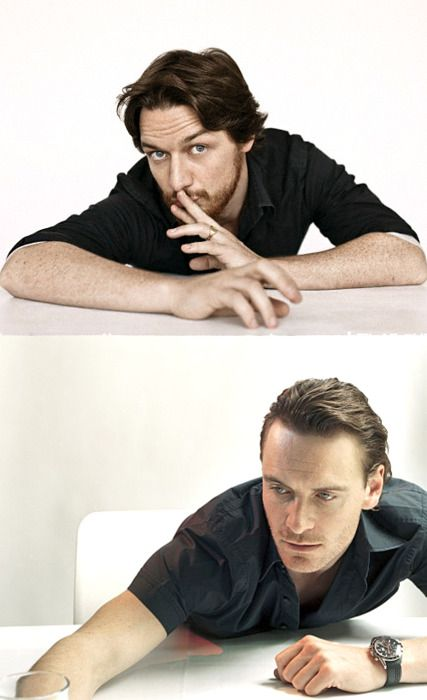 james mcavoy  amp  michael fassbender - These guys are phenom in X-Men    James Mcavoy Michael Fassbender